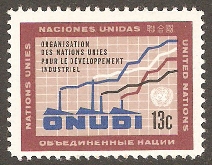 United Nations New York Scott 186 MNH